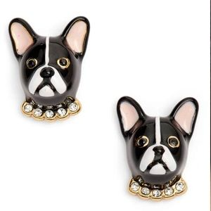 Kate Spade Ma Cherie Antoine French Dog Studs🌟